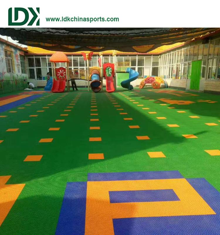 Plastic basketball court floor customization