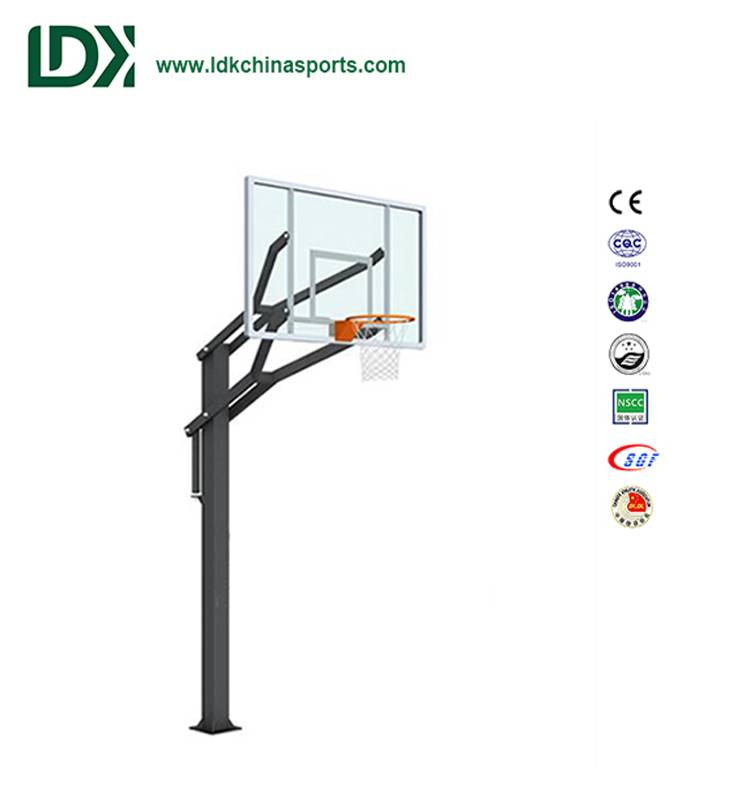 In Ground Adjustable Basketball Hoop