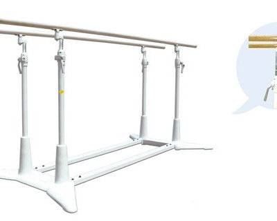 Olympic gymnastics equipment adjustable parallel bars