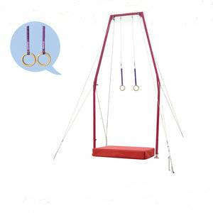 China high quality gym equipment flying ring for official competition