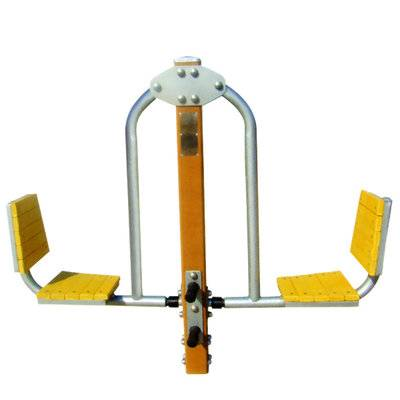 Outdoor stretcher fitness equipment leg stretcher equipment
