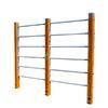 Outdoor exercise bar,double bar,multifunctional bar,children bar,wooden wall bars,Outdoor wall bar,military bar