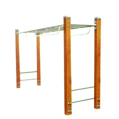 Body strong fitness equipment horizontal ladder high grade carbon steel ladder