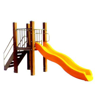 Top seller outdoor  plastic children's slide for sale