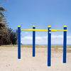 Park steel outdoor fitness gym equipment parallel bars park gym machins