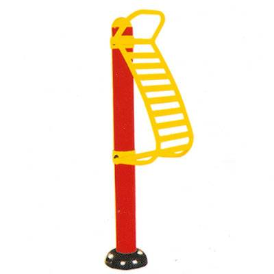 Stainless steel outdoor fitness back stretcher equipment for elderly