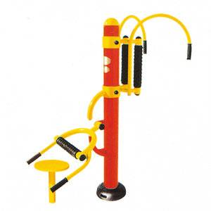 Heated fitness outdoor waist and back massager equipment for elderly