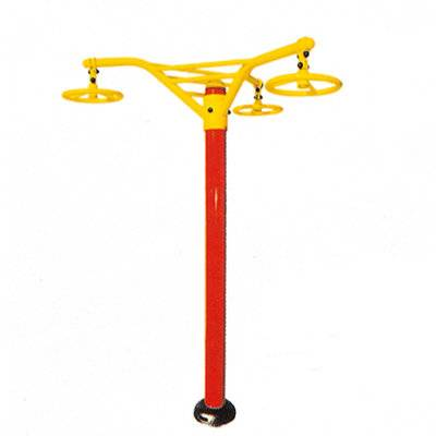 Hot outdoor fitness Overhung Rotating Wheel equipment factory outlets