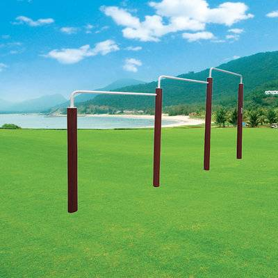 China manufacturer outdoor sports tripe horizontal bar