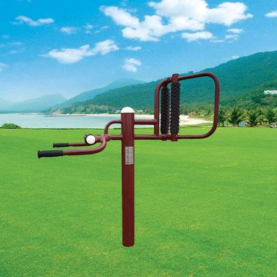 Outdoor residential area waist and back equipment supplier