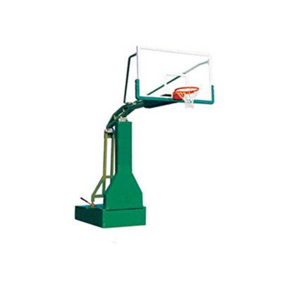 Professional top quality manual hydraulic basketball stand for competition