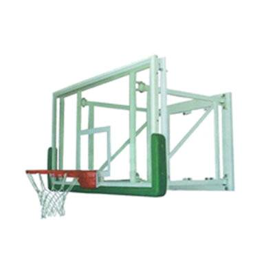Royal indoor fitness and recreational facility wall mounted basketball stand