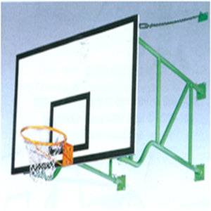 Dulex sport equipment fixed wall mounted basketball stand for sale