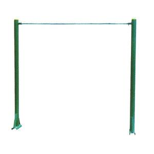 Outdoor nice design underground gymnastic equipment horizontal bars for sports