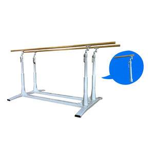 High grade gymnastics equipment indoor parallel bars for competition