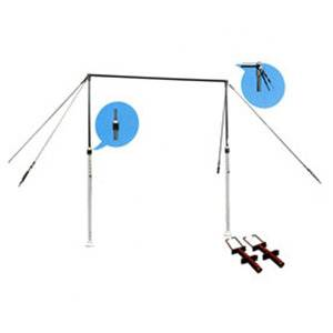 Cheap wholesale fitness and recreational facility gymnastics horizontal bar