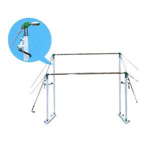 Senior oriented exercise facility gymnastics uneven bars for sale