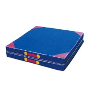 Hottest gymnastic equipment folding hand-held gymnastic mat for sale