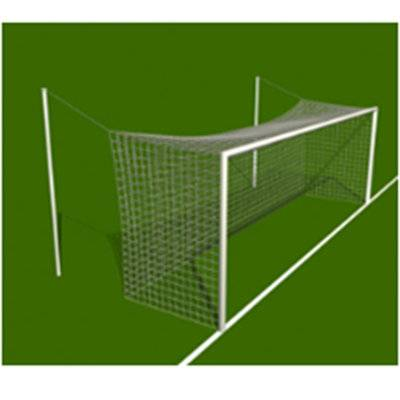 Nice design Low MOQ soccer sport equipment 8' x 24' permanent aluminum soccer goal