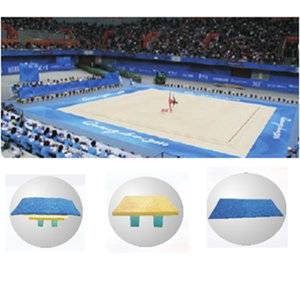 Premium quality gymnastics equipment ryhthmic gymnastics field for competition