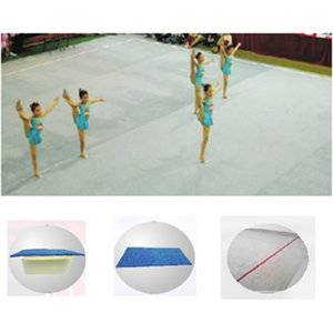 Top quality gymnastics equipment ryhthmic gymnastics field for training
