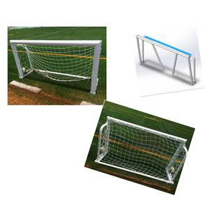 Sports equipment 2x1m Portable and Foldable aluminum soccer goal