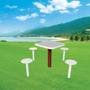 Most Popular Nice design outdoor fitness equipment Chess Table for sale