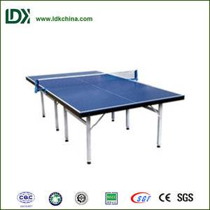 Hottest pingpong equipment best foldable table tennis table