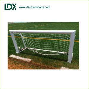 Metal frame soccer equipment Foldable aluminum soccer goal for kids