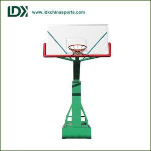 Professional Manual Hydraulic Basketball Stand basketball equipment movable basketball stand