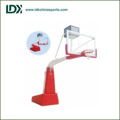 International Standard Elastic Equilibrium basketball hoop for high grade competition