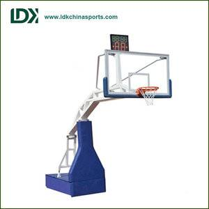 Wholesale basketball training equipment Hydraulic Basketball Stand for sale
