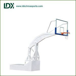Remote control basketball hoop Height Adjustable inground basketball stand