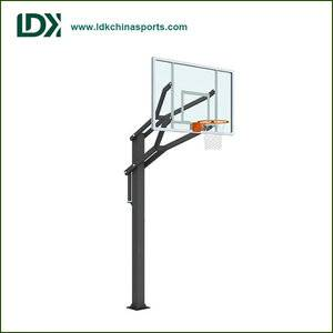 Adjustable outdoor inground basketball stand portable basketball equipment basketball goal