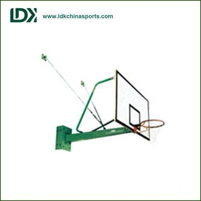 Height adjustable basketball hoop Wall mounting basketball stand