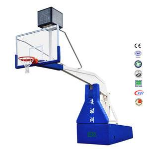 2017 portable certified basketball hoop custom