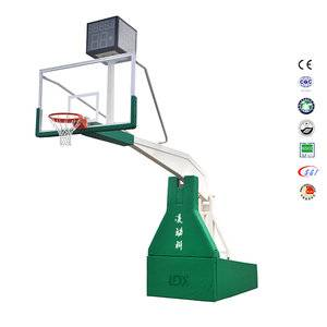 Hot selling hydraulic basketball stand custom