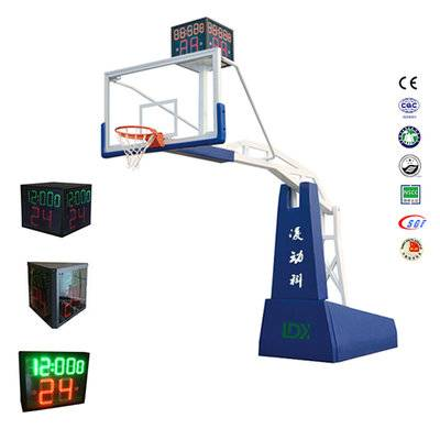 Good selling remote control electric hydraulic  ​basketball goal system