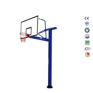 Super durable junior basketball goal post basketball hoops spring