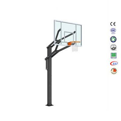 Top selling half court inground basketball shield basketball hoop