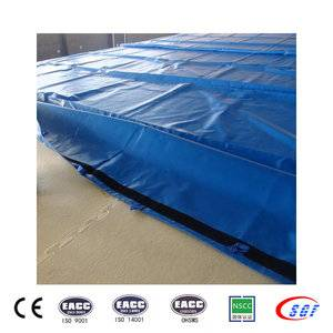 Safe 1400*1400*5 cm gymnastics equipment crash mats for sale