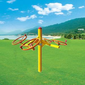 Stand Alone hot sale outdoor fitness equipment taichi spinner for adults