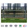 Indoor university gymnasium aluminum folding soccer goal