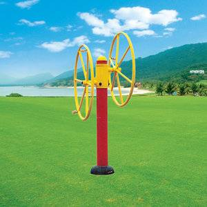 Best selling high quality outdoor fitness equipment arm wheel for old people