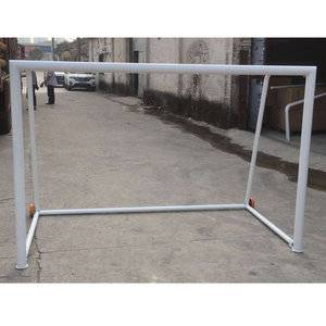 Aluminum 2.25x1.5M portable folding football goal mini soccer goals