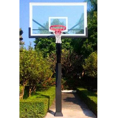Outdoor basketball stand aluminium alloy backboard frame basketball stand