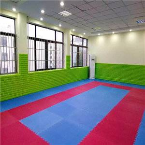 Wholesale martial arts mats taekwondo mat for athletics