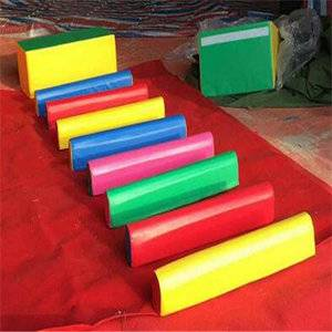 Real cheap indoor jump bar mat for children sport mat