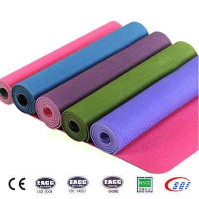 Quite healthy eco-friendly yoga mat, top yoga mat manufacturer from China