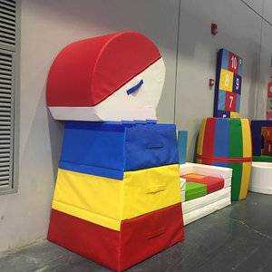 Cheap high quality gymnastics equipment kids playing mats for sale